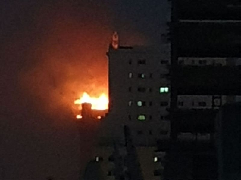 Sharjah building fire