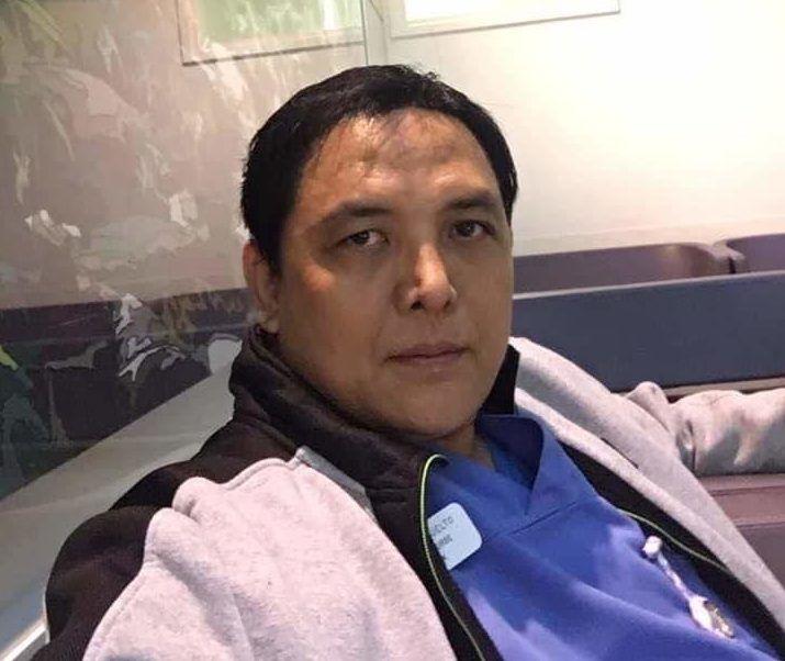 Donald Suelto, a Filipino nurse who died in London