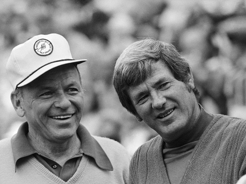 Doug Sanders and Frank Sinatra