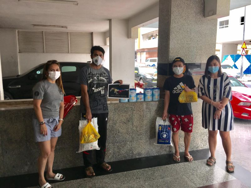 Filipinos help Coronavirus patients