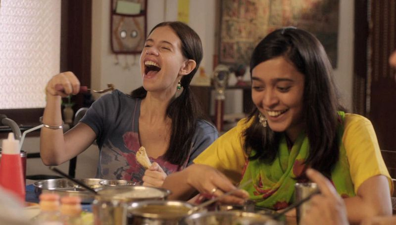 Kalki Koechlin and Sayani Gupta in Margarita with a Straw (2014)-1586767688525