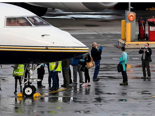 New Zealand Australia coronavirus charter flight