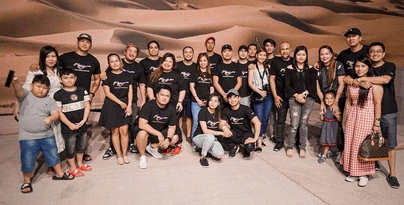 Pinoy Mustang UAE club