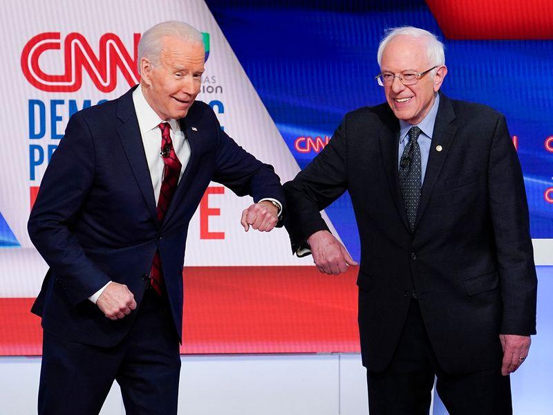200414 Biden Sanders