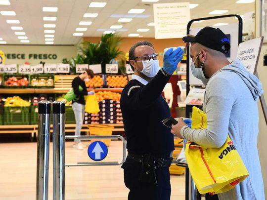 Italy worker coronavirus