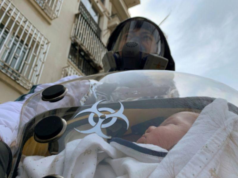 Safety pod baby