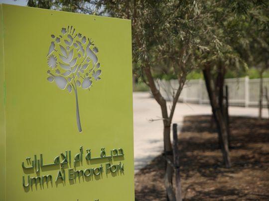 Umm Al Emarat Park in Abu Dhabi