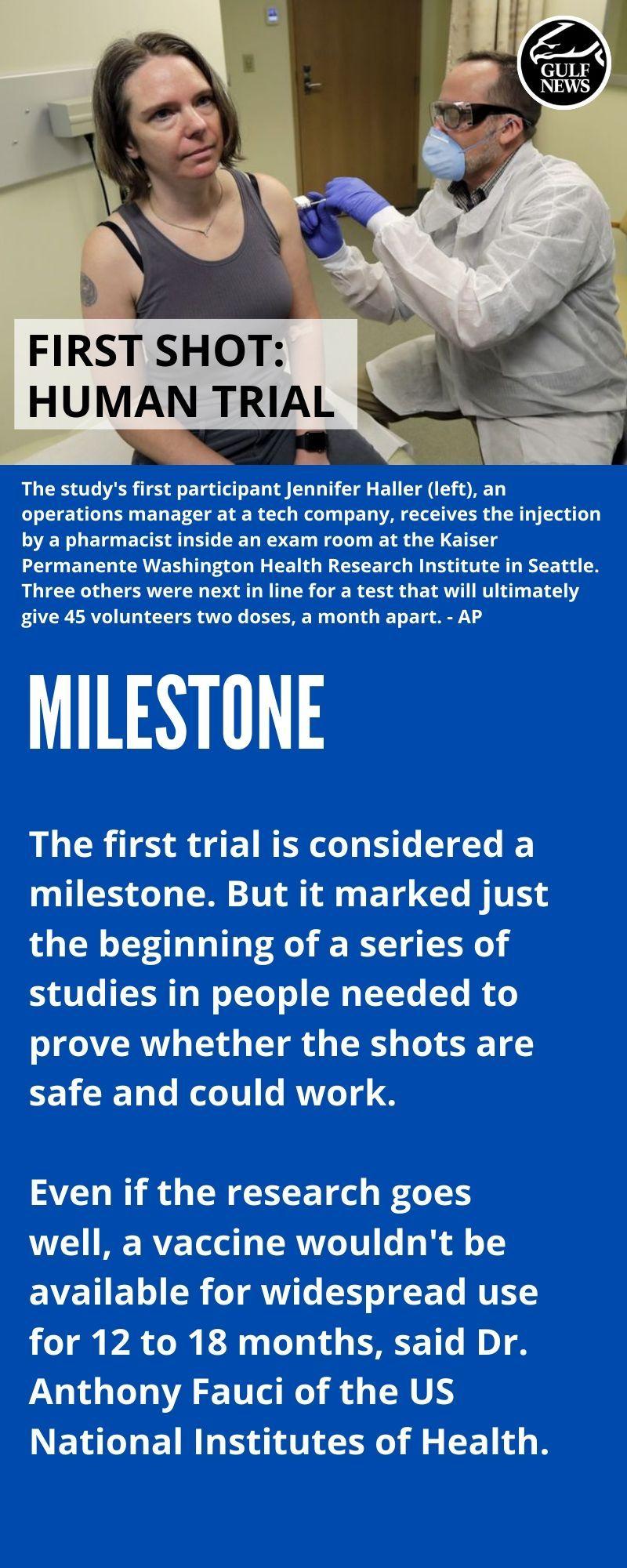 vaccine 1 - shot