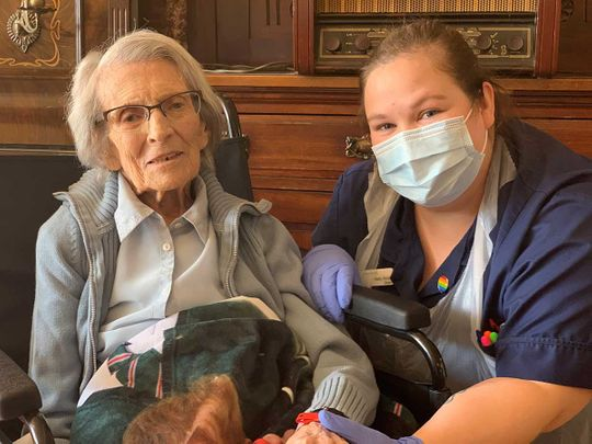 Connie Titchen, 106-year-old, beats coronavirus