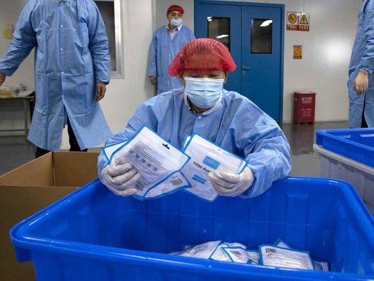 China masks coronavirus