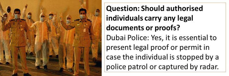 Dubai Police FAQ 21-30