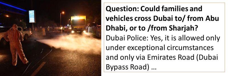 Dubai Police FAQ 41-50