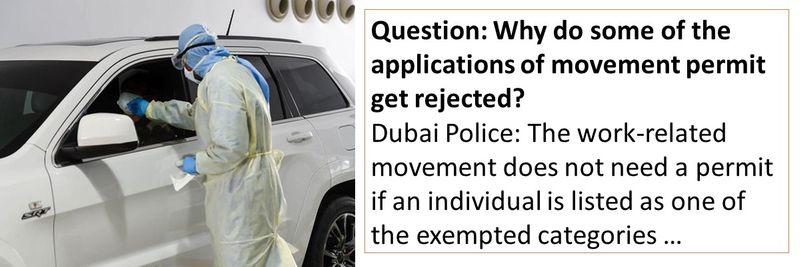 Dubai Police FAQ 71-80