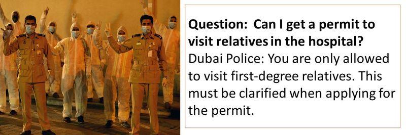 Dubai Police FAQ 81-89