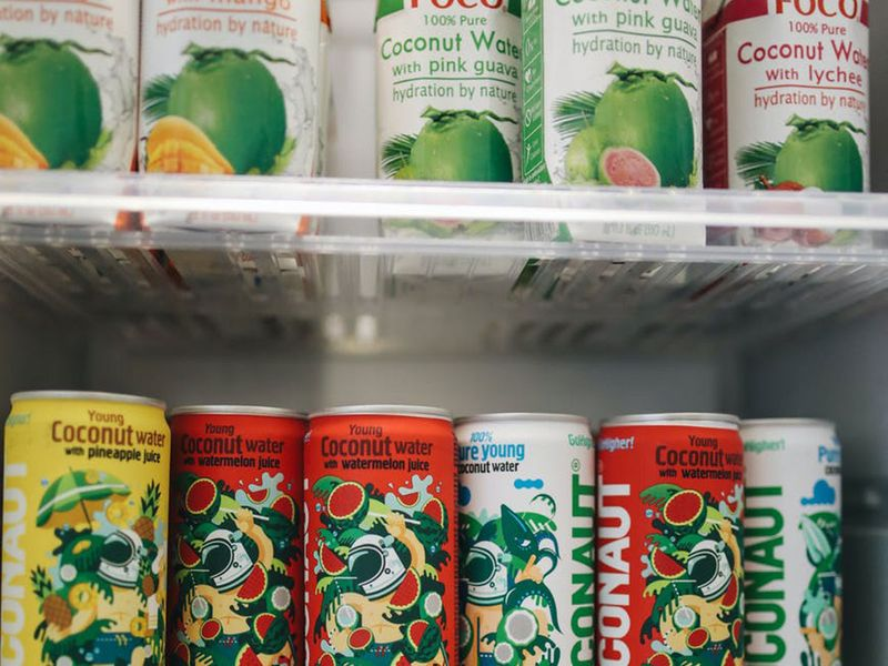 Groceries fridge