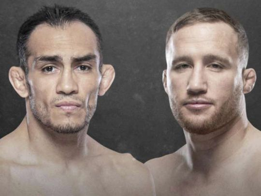 Justin Gaethje stepped in to fight Tony Ferguson before UFC 249 was cancelled