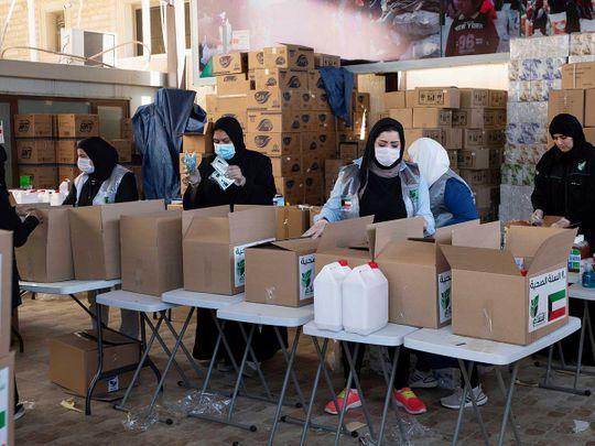 Kuwait charity coronavirus