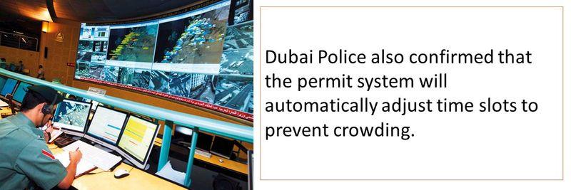 Dubai move permit extra restrictions
