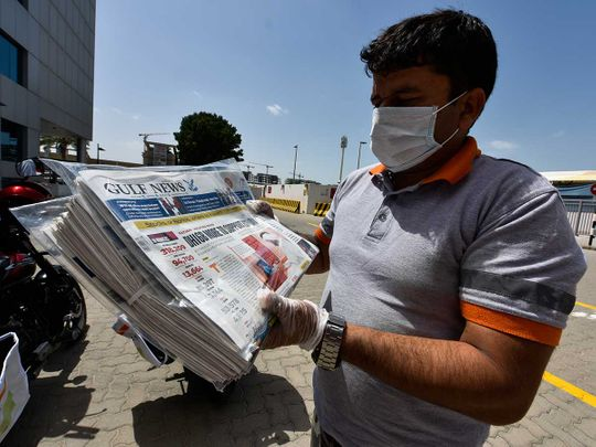 Gulf News Paper Delivery