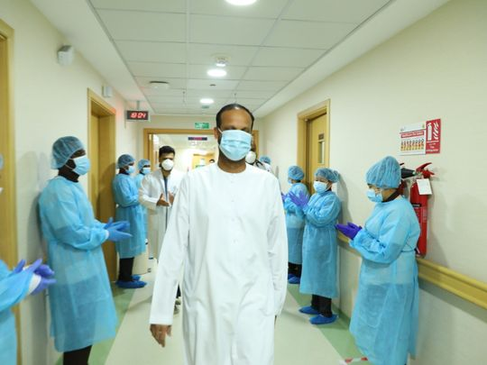 Naseer Vatanappally leaves hospital in Dubai after contracting coronavirus