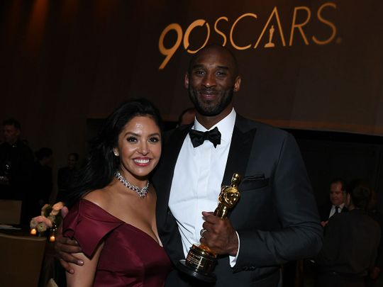 Kobe Bryant and his wife Vanessa Laine Bryant