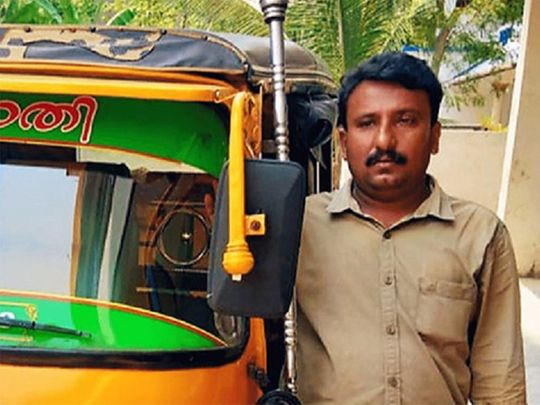 Kerala auto driver Ajayan delivers things free in his Kottayam neighbourhood amid lockdown