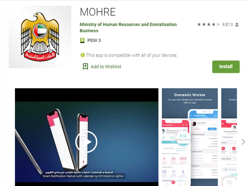 Online federal government services mohre 1