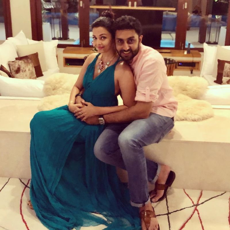 Aishwarya Bachchan and Abhishek Bachchan
