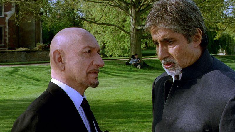 Ben Kingsley and Amitabh Bachchan