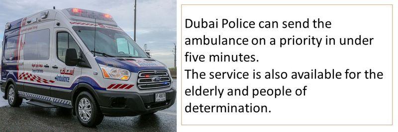Faster ambulance