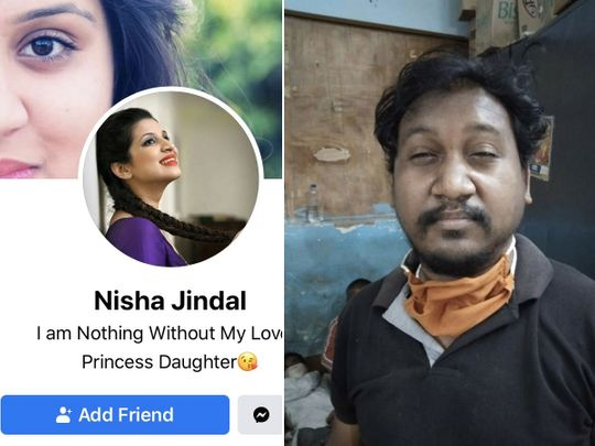 Indian man posed as Nisha Jindal on Facebook with a fake ID and photo