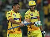MS Dhoni and Faf Du Plessis for Chennai