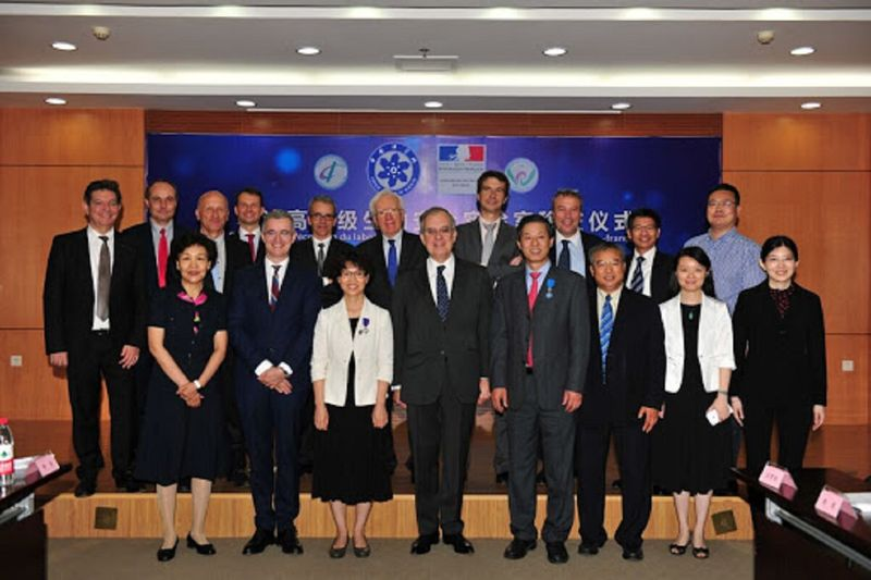 On June 16th 2016, Maurice Goutrdault, the French Ambassador to China,