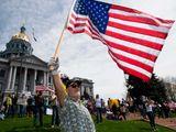 US protests colorado lockdown
