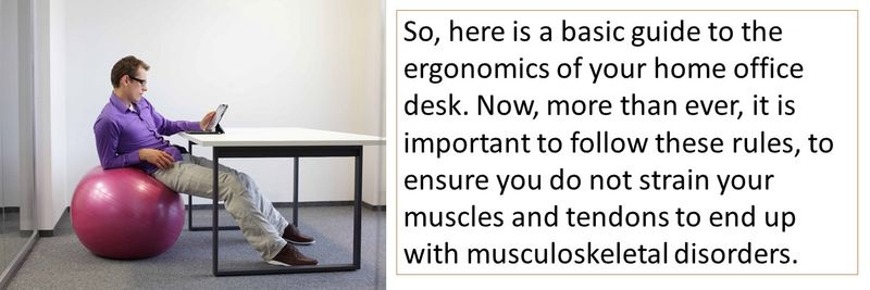 home office ergonomics