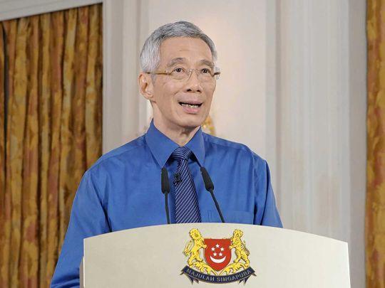 Singapore Prime Minister Lee