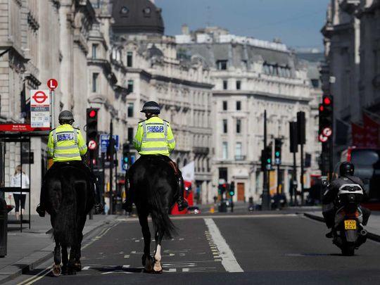 UK mounted police