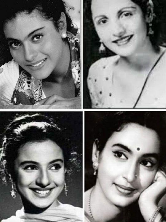 Kajol, Tanuja, Shobhna Samarth