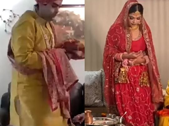 Love in the Time of Covid-19: Punjabi Couple Have Online Wedding