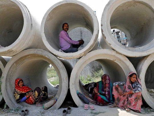 Migrant labourers India