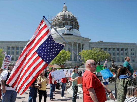 Missouri Capitol protest