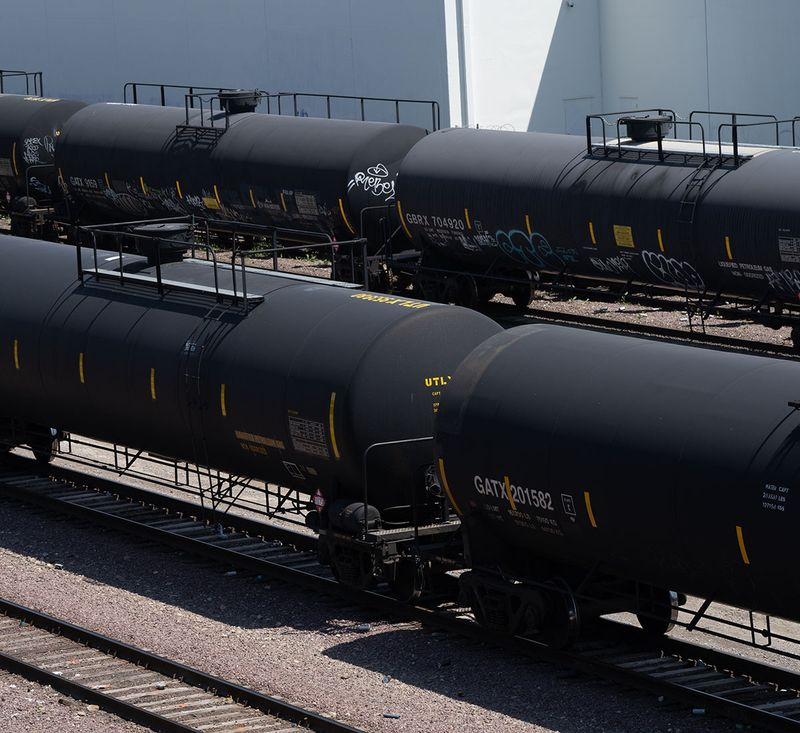 Oil wagons