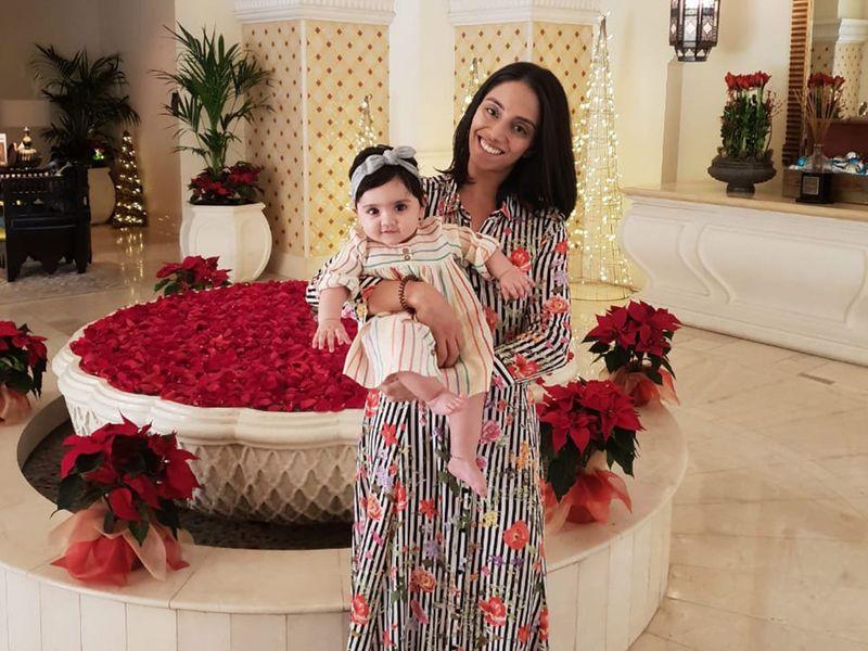 BC Sumayya and baby Leiya now live in Dubai
