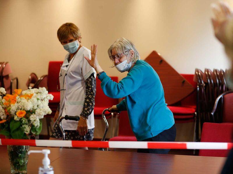 France care home elderly