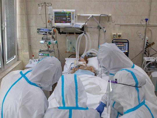 Belgrade medical workers coronavirus
