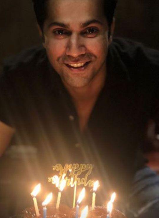 Varun with his birthday cake