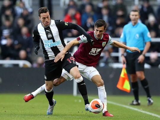 Newcastle United's Javier Manquillo