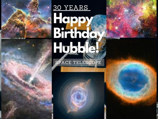 hubble birthday 30 years