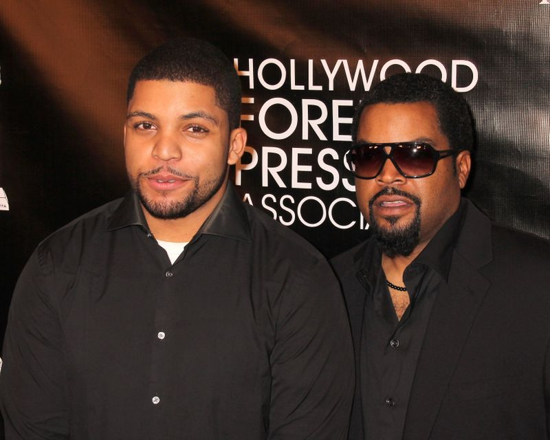 Ice Cube and O'Shea Jackson Jr