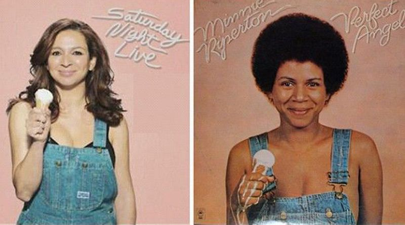 Maya Rudolph and Minnie Riperton